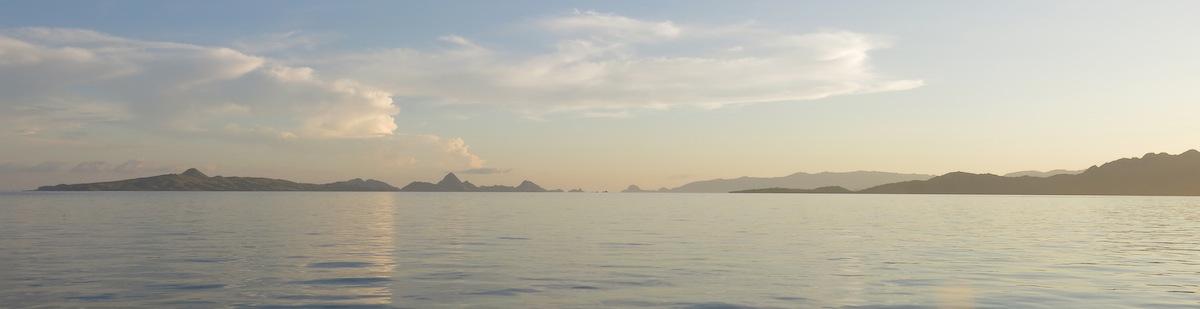 Sunset Komodo NP