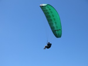 Learning to paraglide New Zealand