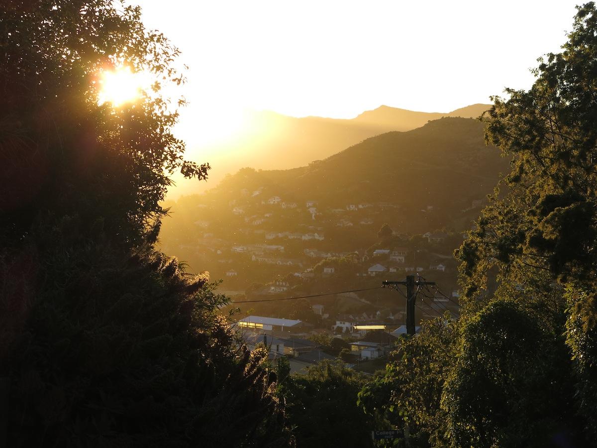 Lyttelton Sunset
