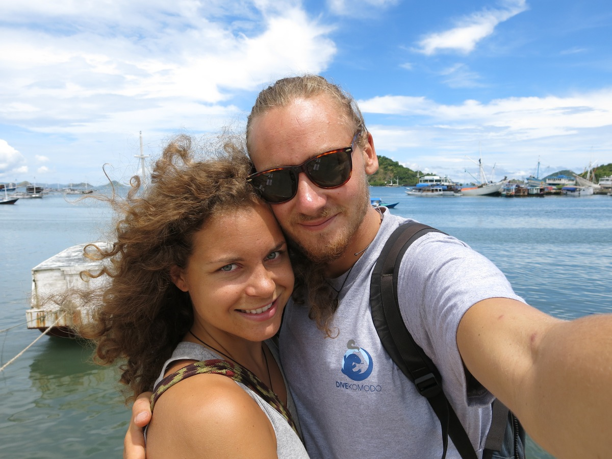 Erik Ohlson och Nicole Ahne