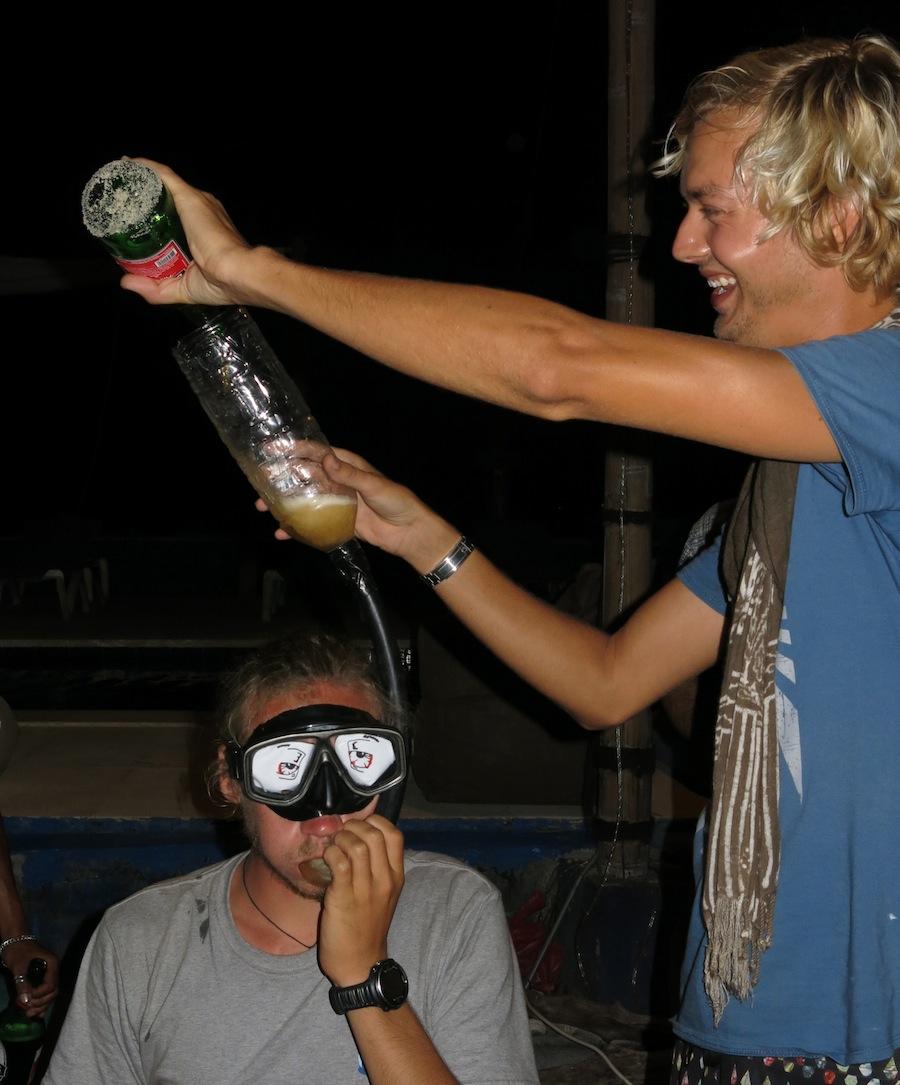 Snorkeltest Nick Longfellow