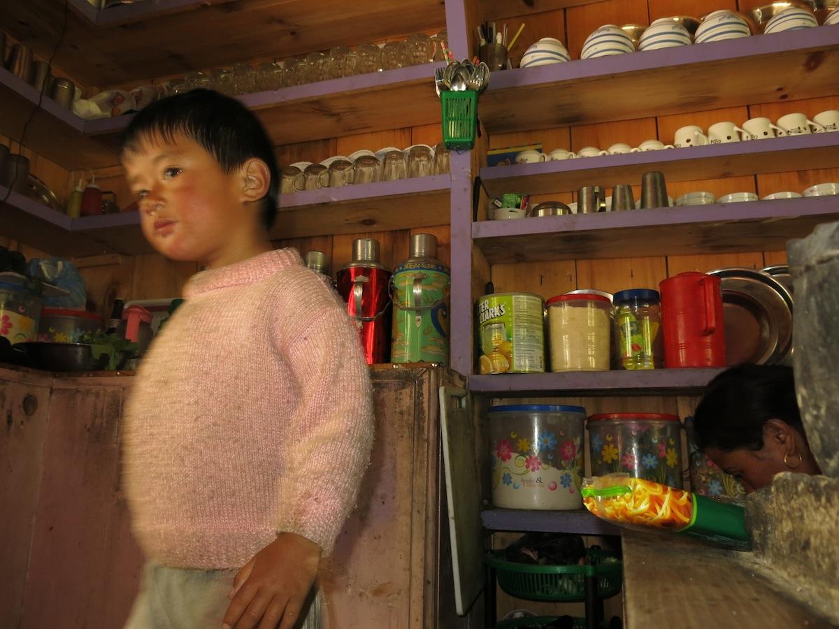 Kid Annapurna Nepal