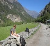 Erik Ohlson i Nepal