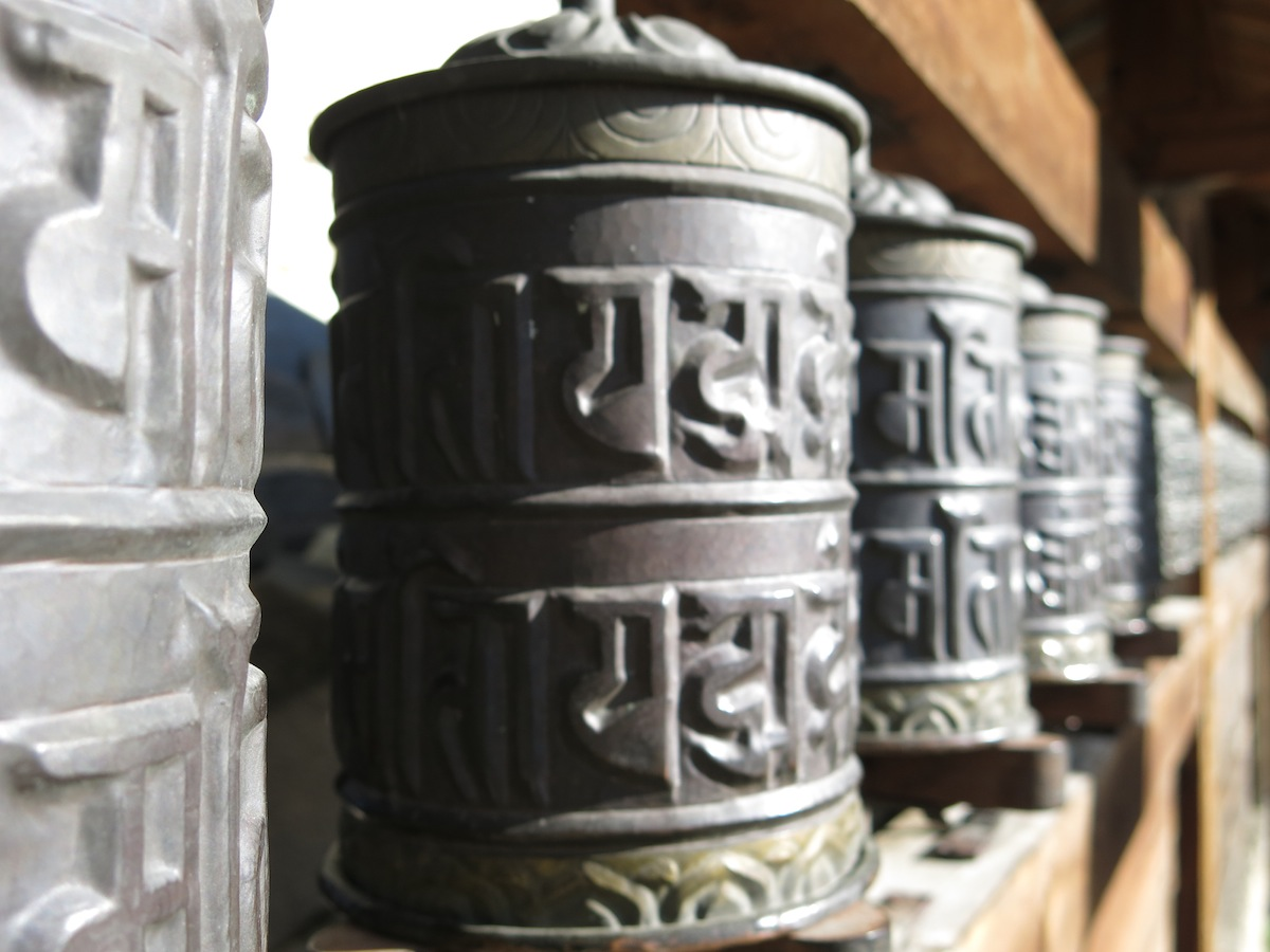 Prayer Wheel Annapurna