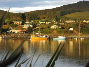 Fishing village NZ