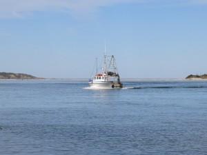 Fishing boat New Zealand