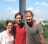 Mia, Gudmund and Erik