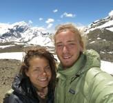 Nicole Ahne och Erik Ohlson