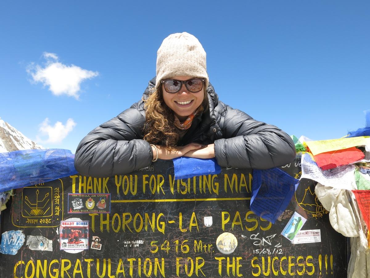 Nicole Ahne Thorung La Pass