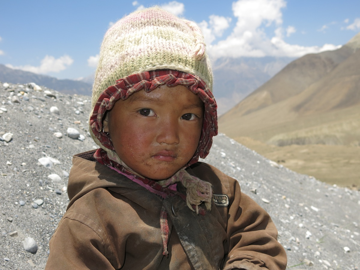 Kid in the Himalayas