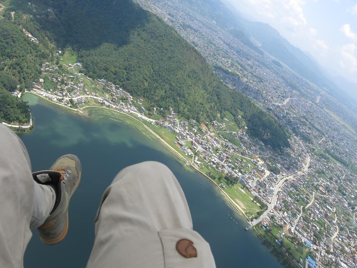Paragliding Pokhara Erik Ohlson