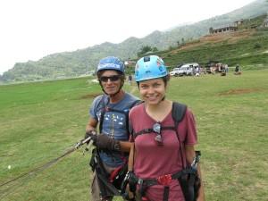 Nicole Ahne i Nepal