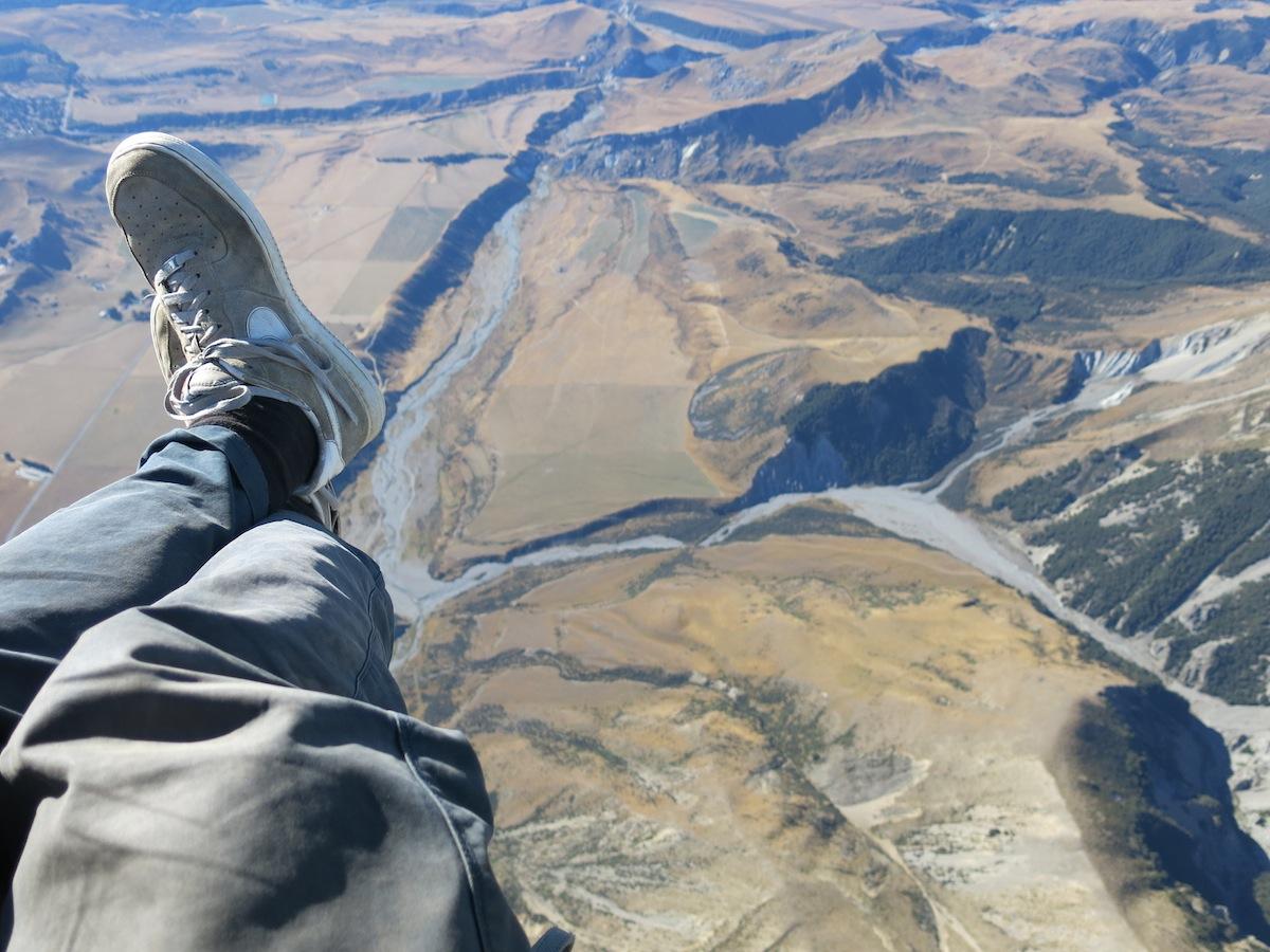 Mt. Cheeseman Paragliding