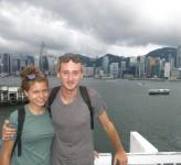 Nicole Ahne och Erik Ohlson Hong Kong