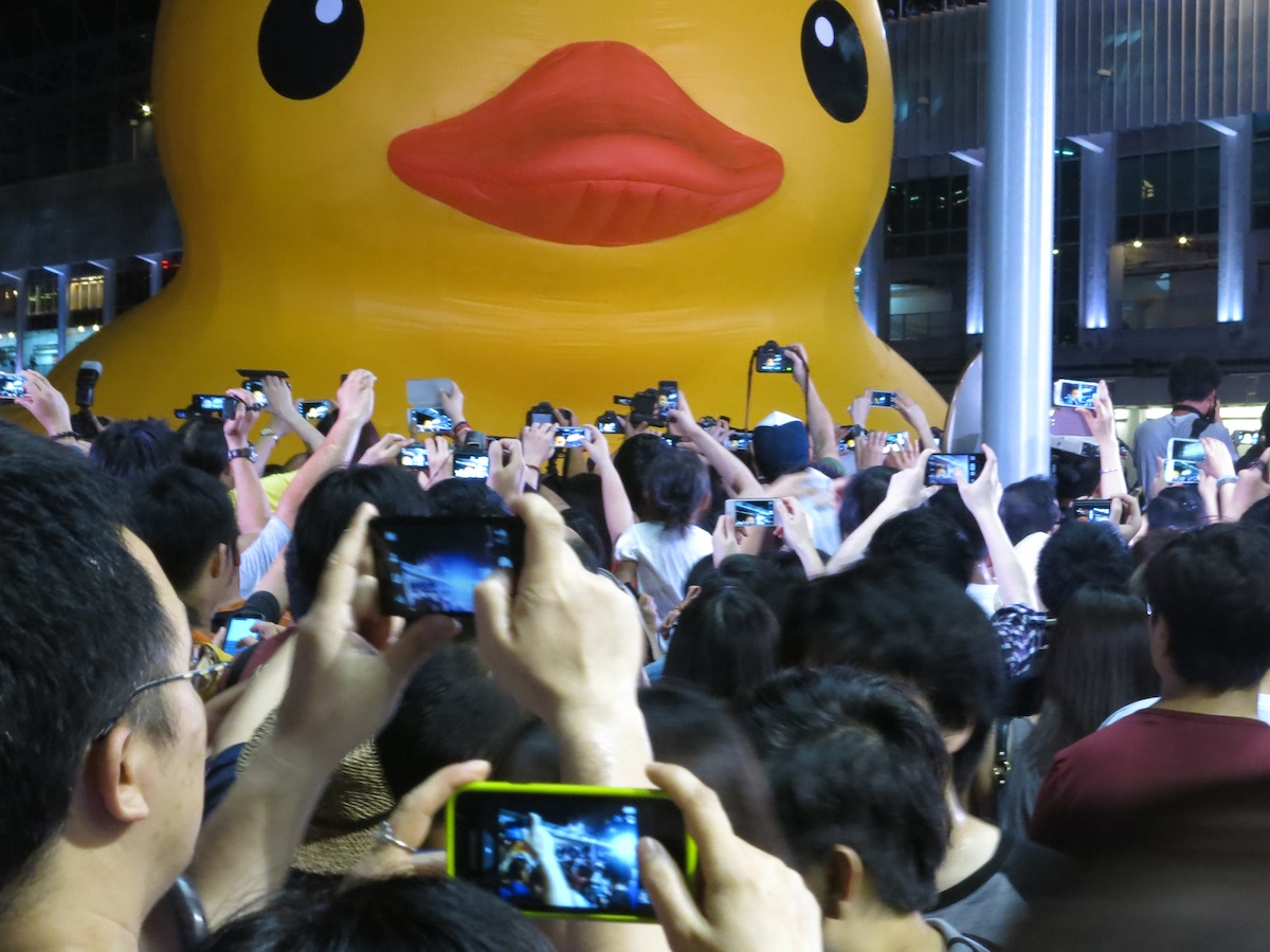 The Rubber Duck Project Hong Kong