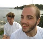 Anton Freszals och Rustan Curman
