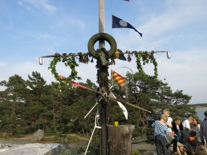 Midsommarstång Skatholmen