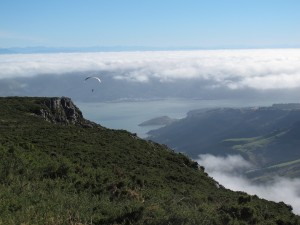 Paragliding Mt. Bradley