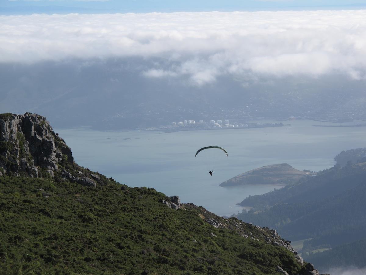 Paragliding Banks Peninsula
