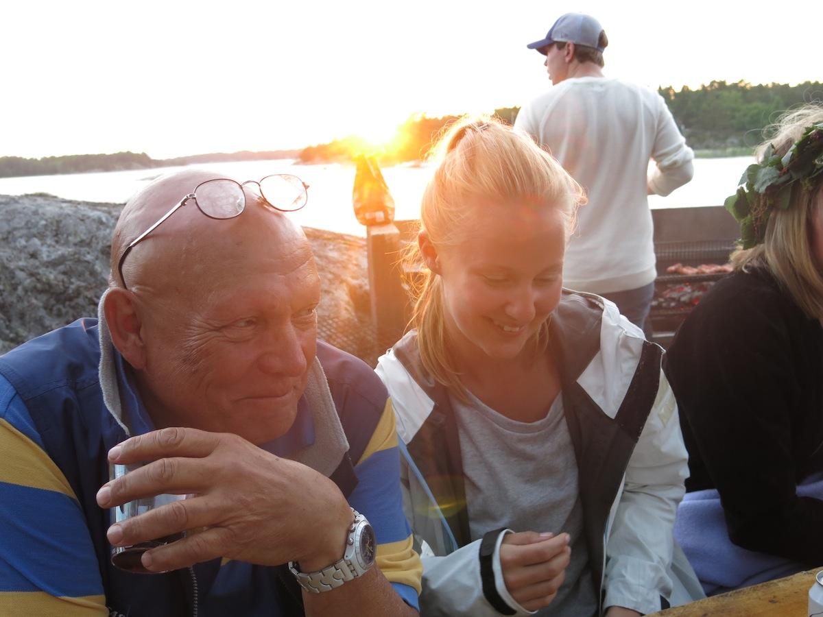 Tomas Richter och Erika Lundblad