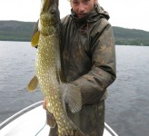 Erik Ohlson with Pike