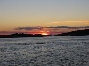 Sunset Hunnebostrand