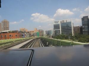 Driverless train Taiwan