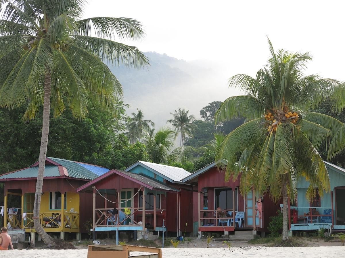 Bungalows Tioman Island Malaysia