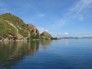 Island in Komodo NP
