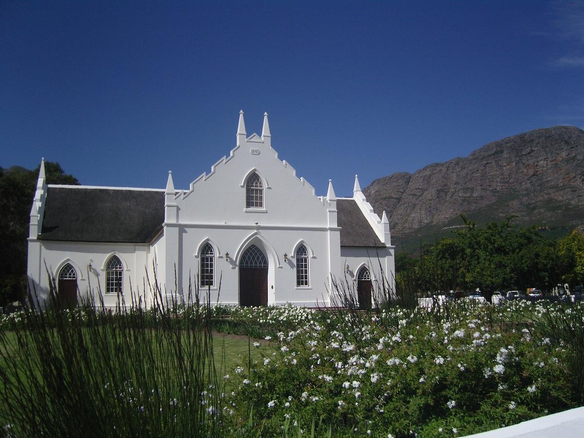Vingård Sydafrika