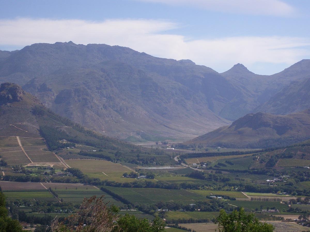 Taffelberget Sydafrika