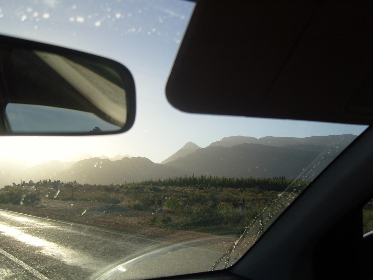 Hyrbil i Sydafrika